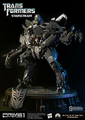 Transformers Starscream Statue 66 cm Prime 1 Studio Sideshow Figur Optimus Prime