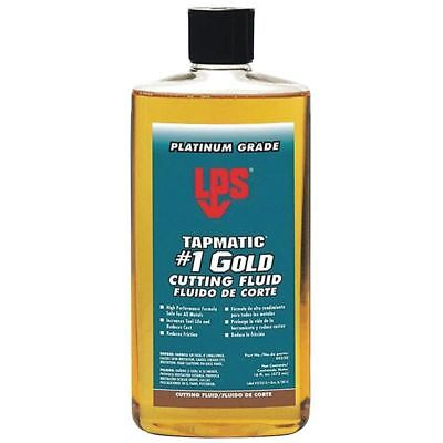 LPS Tapmatic 40320 1 Pint Tapmatic® #1 Gold Cutting Fluid (Pack of 3)