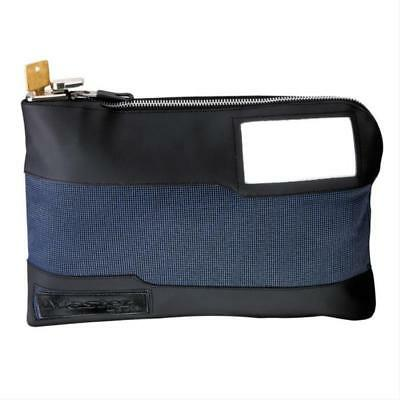 New Master Lock 7120D Blue Locking Nylon Storage Bag