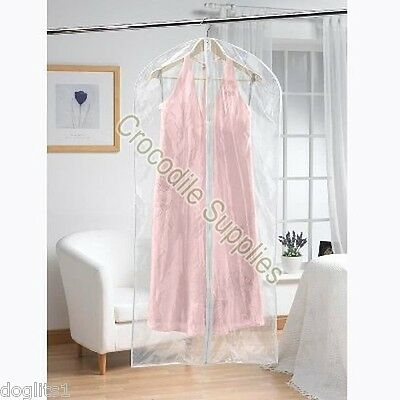 Strong Hanging Hang Up Clothes Suit Dress Gown Storage Bags - Choice of Length