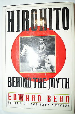 WW2 Japanese Hirohito Behind the Myth Reference Book