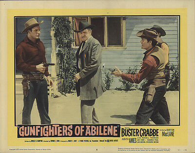 Gunfighters of Abilene 1959 Original Movie Poster Romance Western