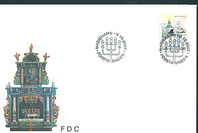 Aland 2002 Saltvik Church on unaddressed post office first day cover