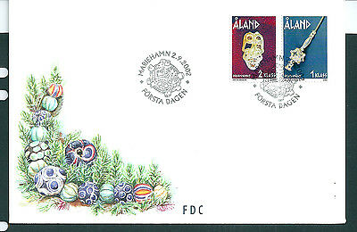 Aland 2002 Iron Age Jewellery set on unaddressed post office first day cover
