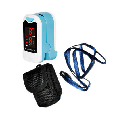 US Seller, FingerTip Pulse Oximeter blood Oxygen level SpO2 monitor,BlackCMS50DL