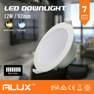 12W Ip44 Non-Dim Led Downlight Kit 1000Lm 92Mm Cutout Dayligh White 5700K Saa