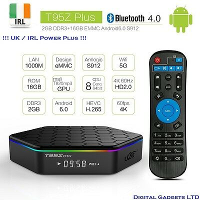 T95Z Plus S912 2GB + 16GB Octa Core Android 6.0 TV Box KODI , IRL Stock !!!