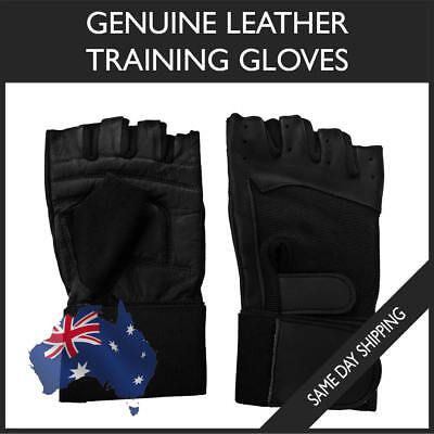 TWOTAGS Gym Gloves Wraps FITNESS WEIGHT LIFTING WRIST WORKOUT CYCLING TRAINING 1