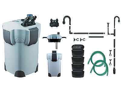 SUNSUN HW404-B Aquarium Fish Tank External Filter & UV - 2000 Litre + Free Media