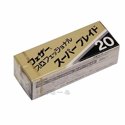 New Feather Artist Club 20 pieces of Feather Professional Super Blade PS-20 JP
