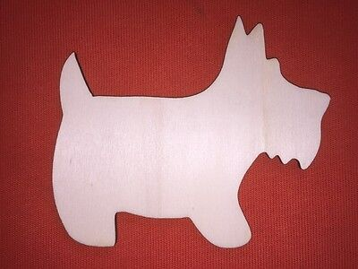 10 large DOG n1 PLAQUE SHAPES PLAIN UNPAINTED BLANK WOODEN EMBELLISHMENTS CRAFT