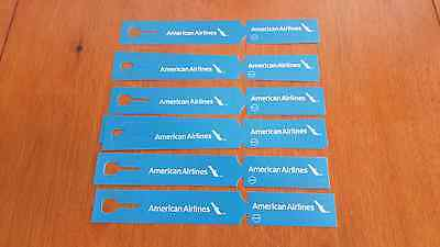 American Airlines Baggage Tag Lot - New Logo (All Unused)
