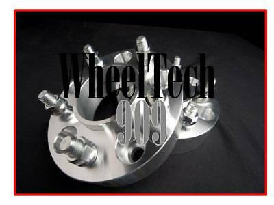 "1"" Hub Centric 66.1 Wheel Spacers Adapters 5X4.5= 5X114.3Mm 12X1.25 Fits Nissan"