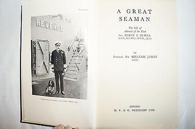 WW1 British RN A Great Seaman Reference Book