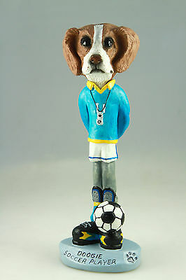 Soccer Brittany Brn Wht-See Interchangeable Breeds & Bodies @ Ebay Store