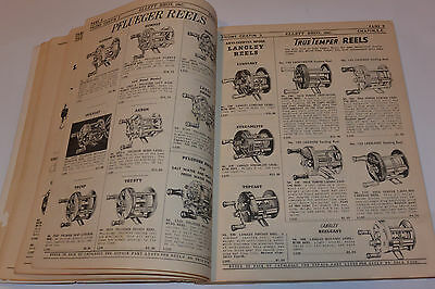 Vintage 1955 Fishing Supplies Dealer Catalog! Rods/Reels/Lures/Boats/Pflueger+++