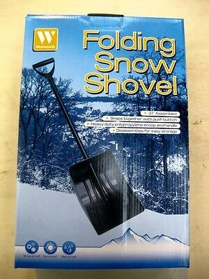 Westwoods folding Snow Shovel Ideal to carry in the car boot
