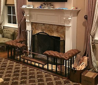 Club Fender Fireplace Bench - Late Georgian design