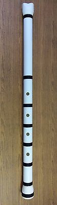 Shakuhachi Japanese PVC Flute 1.8 in key D (Traditional Style)