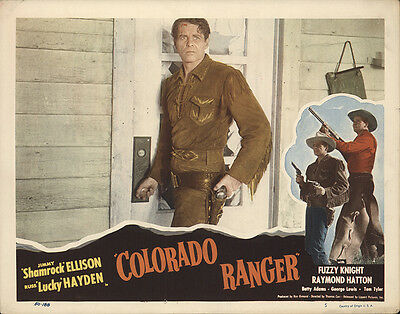 Colorado Ranger 1950 Original Movie Poster Action Adventure Western
