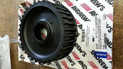 ANDREWS 34T BELT DRIVE TRANS PULLEY harley davidson BIG TWIN 94up 24323 290344