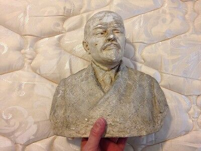 Lenin Bust by Clare Sheridan in 1922! Super Rare Soviet Wow! USSR CCCP Plaque