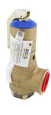 Boss 27621025 Fig 960 DN40 3.30 Bar Bronze Safety Relief Valve