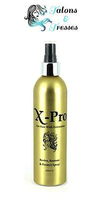 X-Pro Human Hair Extensions Revive, Restore & Protect After-Care Spray 250ml