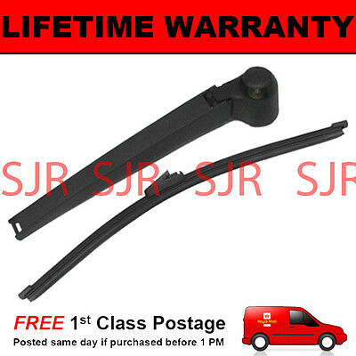 "For Audi A6 4B C5 Avant Estate 1999-2005 330Mm 13"" Rear Wiper Arm + Blade Kit"