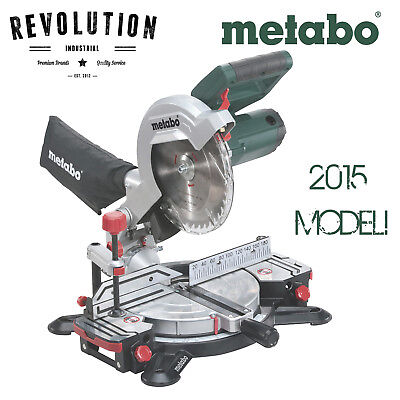 NEW MODEL Metabo 216mm Crosscut Compound Mitre Saw KS 216 M Lasercut - KS 216 M