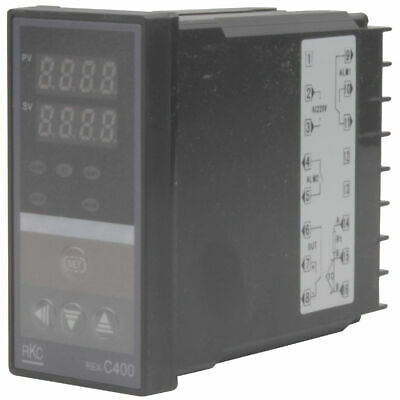220V Dual F/C Digital PID Temperature Controller Upper Limit Alarm Function
