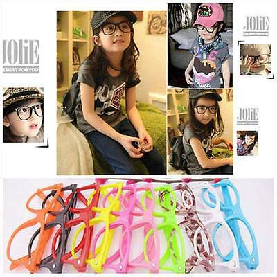 Children Kids Grils Club Party  Sun Glasses frame No Lenses Fashion StyleGlasses