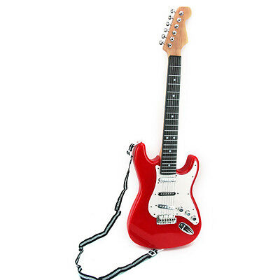 25inch  kids simulation electric Guitar gift 6 String Musical Instruments toys