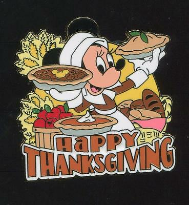 Thanksgiving 2009 - Minnie Mouse - LE 3000 Disney Pin 73597