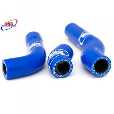 NEW AS3 High Performance Silicone Blue Hose Kit-GASGAS 2014-15 Trials-FREE CLIPS