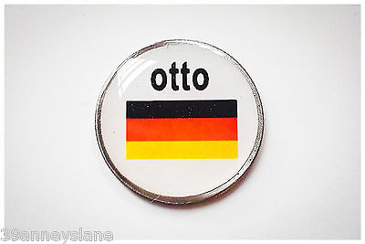 anneys - your OWN PERSONALISED  ** German flag *** golf ball marker!!
