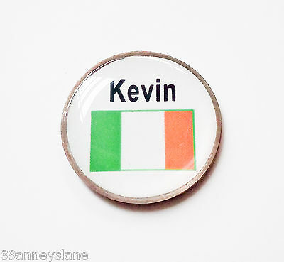 anneys - your OWN PERSONALISED  ** Irish flag *** golf ball marker!!