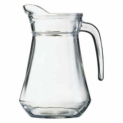 Luminarc Classic 1L Clear Glass Jug Serving Water Dinner Kitchen New