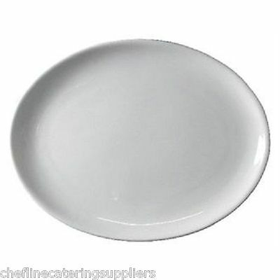 BULK BUY OFFER- 24x Oval 30cm Plate Catering. Hotelware, Banqueting, Restaurant