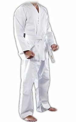 Maxx Karate Aikido Suit With Belt Taekwondo Martial Student Uniform Polycotton w