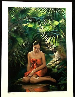 Kathy Long - Hawaiian Art - Limited Edition - TROPICAL REFLECTIONS - AP 16/50