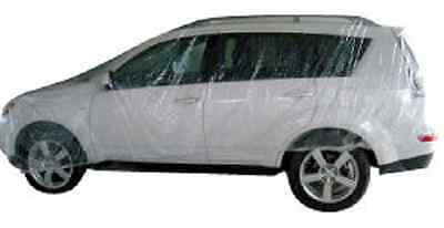 5 pack of Universal Disposable Plastic Van/SUV Cover 16' X 24'