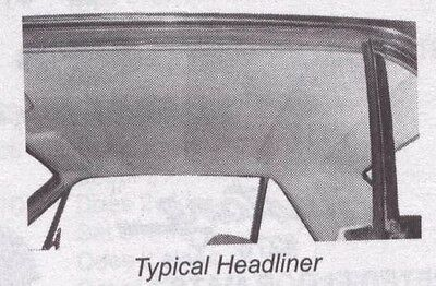 74 75 76 77 78 Ford Mustang Coupe 4 Bow Headliner Tier - Specify Color