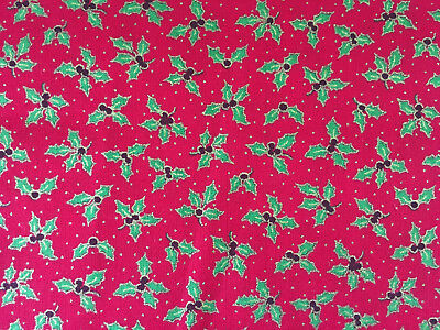 100/% Cotton Christmas Fabric by Metre Fat Quarters Festive Craft Sew Advent X112