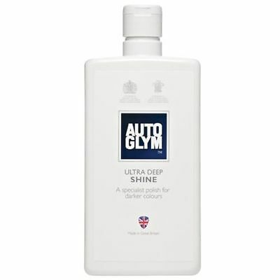 Autoglym Ultra Deep Shine - Dark Coloured Car Polish - Car Bodywork - FREE POST!