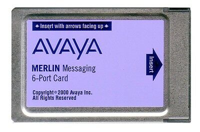 AVAYA Lucent Merlin Messaging 6-Port Card 12H3 108491374 voicemail phone system