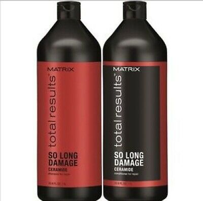 Matrix Total Results So Long Damage Repair Shampoo and Conditioner 1000ml 1L