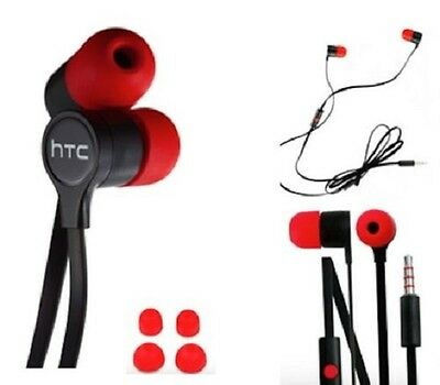 100% Genuine Htc M8 And M8 Mini Headphones Ear Buds With Beats Technology Uk