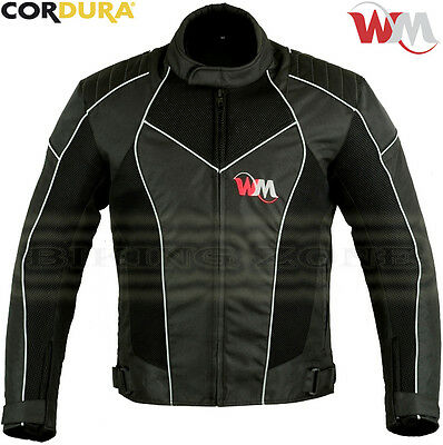 Wind Max Mens Summer Mesh Air Vent Technology Ce Motorbike / Motorcycle Jacket