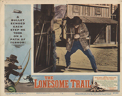 The Lonesome Trail 1955 Original Movie Poster Western